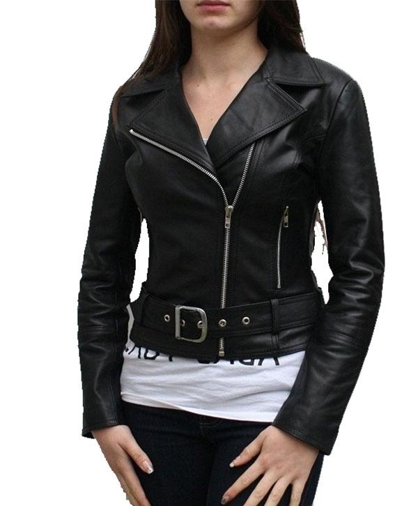 Spirit Women Leather stylish Jacket