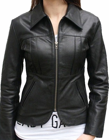 Camden Women Leather Jacket