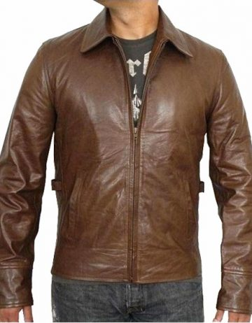 Star Sky leather Jacket
