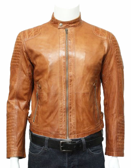 mens-leather-biker-bomber-jacket-tan-3
