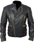 Brando Biker Black Leather Jacket