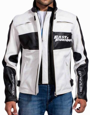 Furious 7 Dominic Toretto Leather Jacket