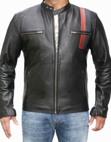 Speed leather jacket
