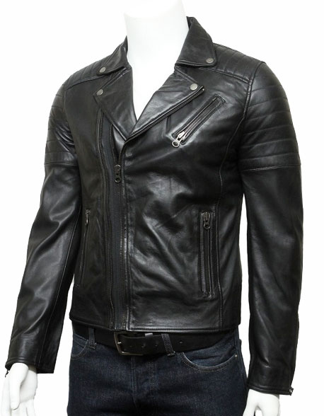 mens-biker-leather-jacket-stylish-ziped-look-black-(1)