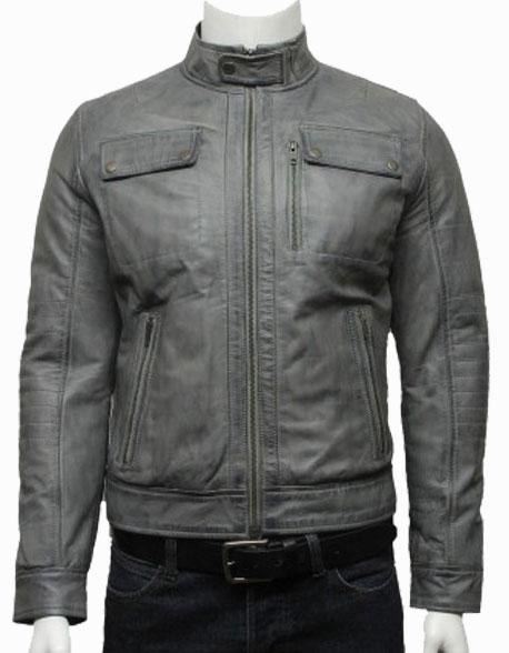 mens-classic-leather-biker-bomber-jacket-black-2