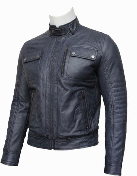 mens-classic-leather-biker-bomber-jacket-grey-(1)