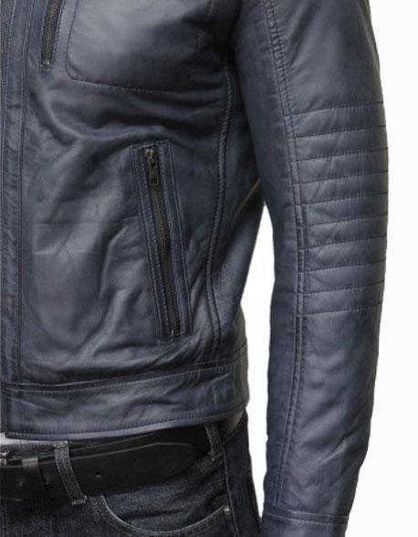 mens-classic-leather-biker-bomber-jacket-grey-4