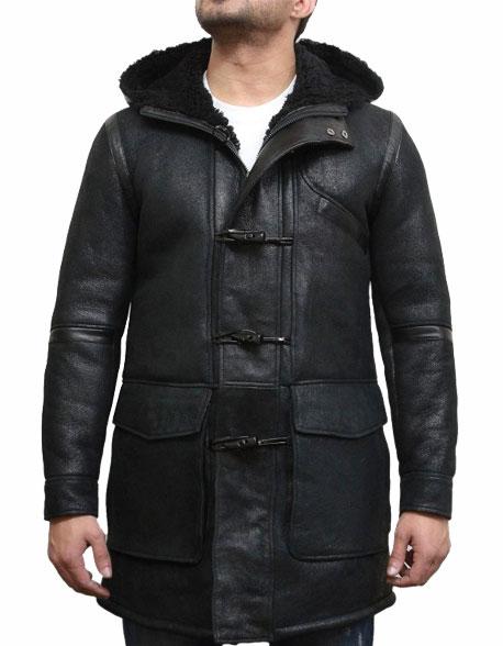 men-s-hooded-luxury-sheepskin-pea-coat-german-navy-long-duffle-coat-5