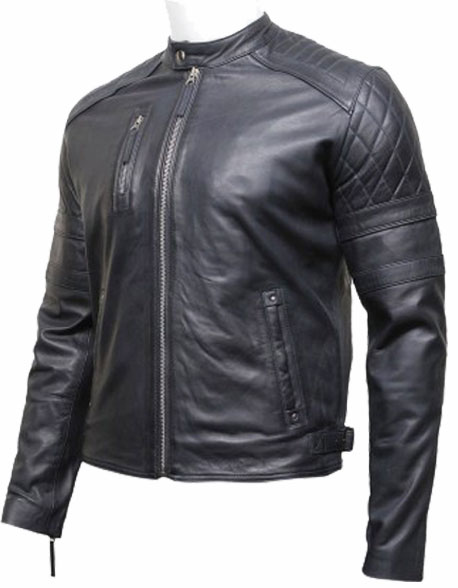 mens-classic-leather-biker-bomber-jacket-navy-blue-2