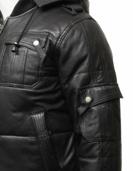 mens-classic-retro-puffed-leather-biker-jacket-black-3