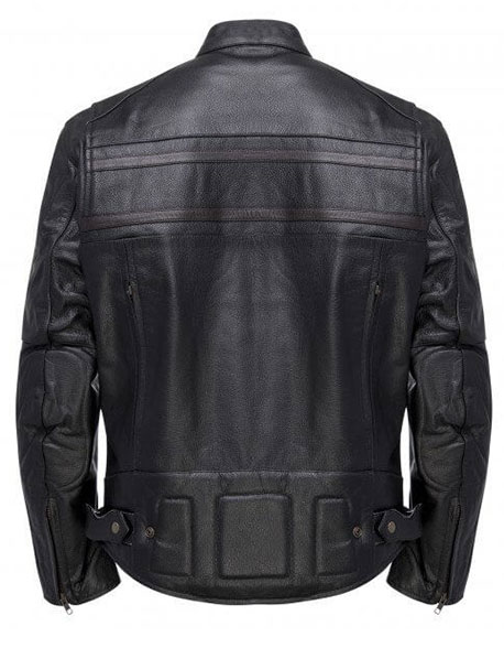 Fleming Rocky Black Leather Jacket