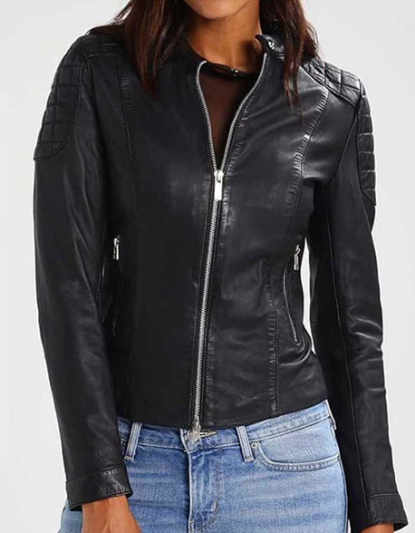Kardashians Leather Jacket for Women