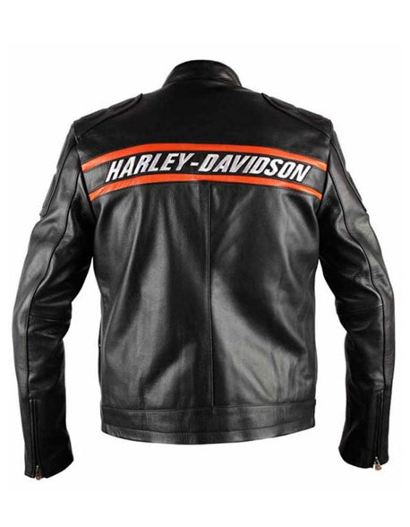 GOLDBERG HARLEY DAVIDSON LEATHER JACKET