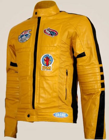 Kill Bill Motorcycle Leather Jacket