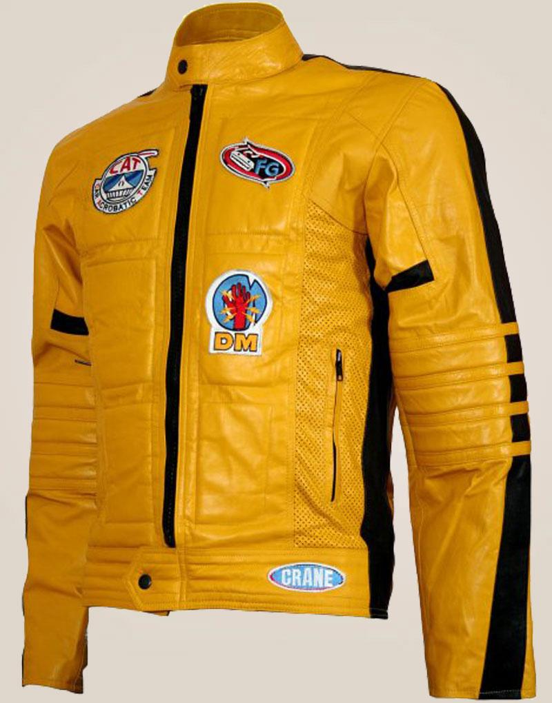 Kill Bill Motorcycle Leather Jacket