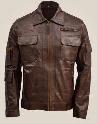 Men's Brown Sheep Leather Jacket