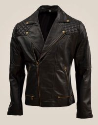 Quilted-Men's-Soft-Black-Sheep-Leather-Jacket5